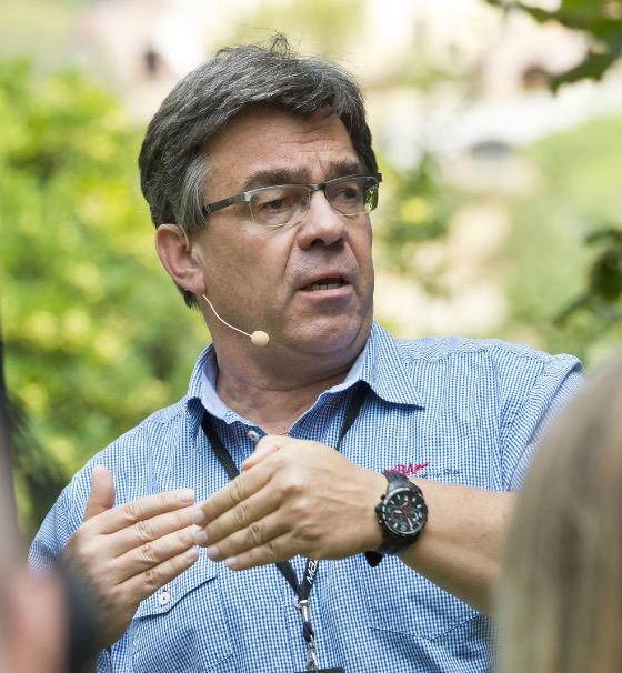 Christoph Treier on ollut vuosikymmeniä mukana huippu-urheilun ytimessä.