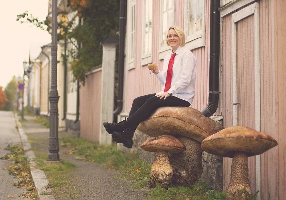 Heidi Majabacka on Tilitoimisto Pulkkisen uusi kirjanpitäjä
